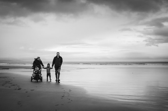 SNEAK PEEK - Family Lifestyle Session at Rest Bay, Porthcawl
