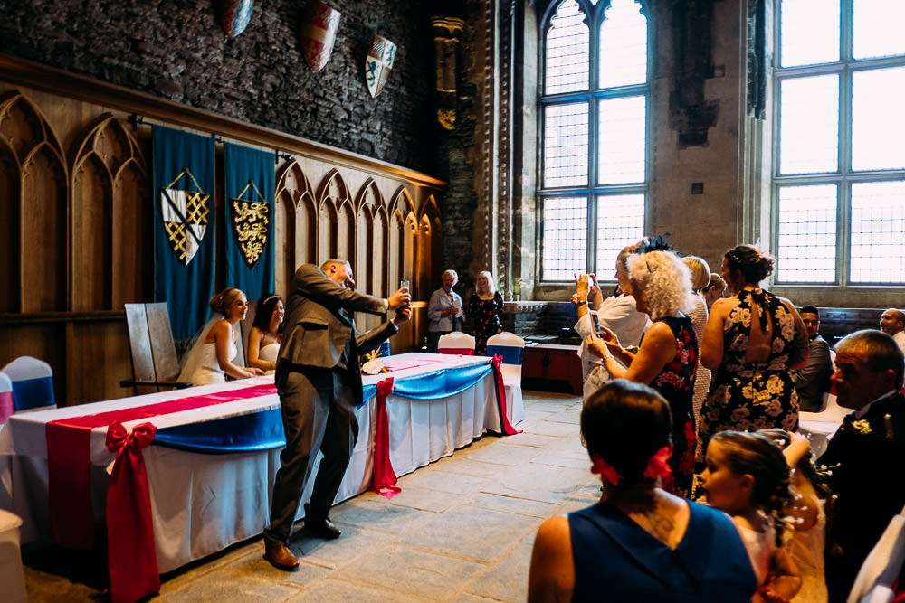 ANERIA SARAH ALTERNATIVE WEDDING PHOTOGRAPHY CAERPHILLY CASTLE 18