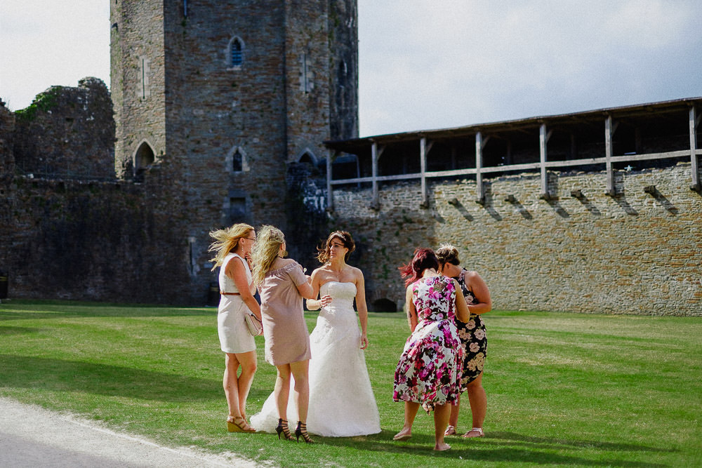 ANERIA SARAH ALTERNATIVE WEDDING PHOTOGRAPHY CAERPHILLY CASTLE 34