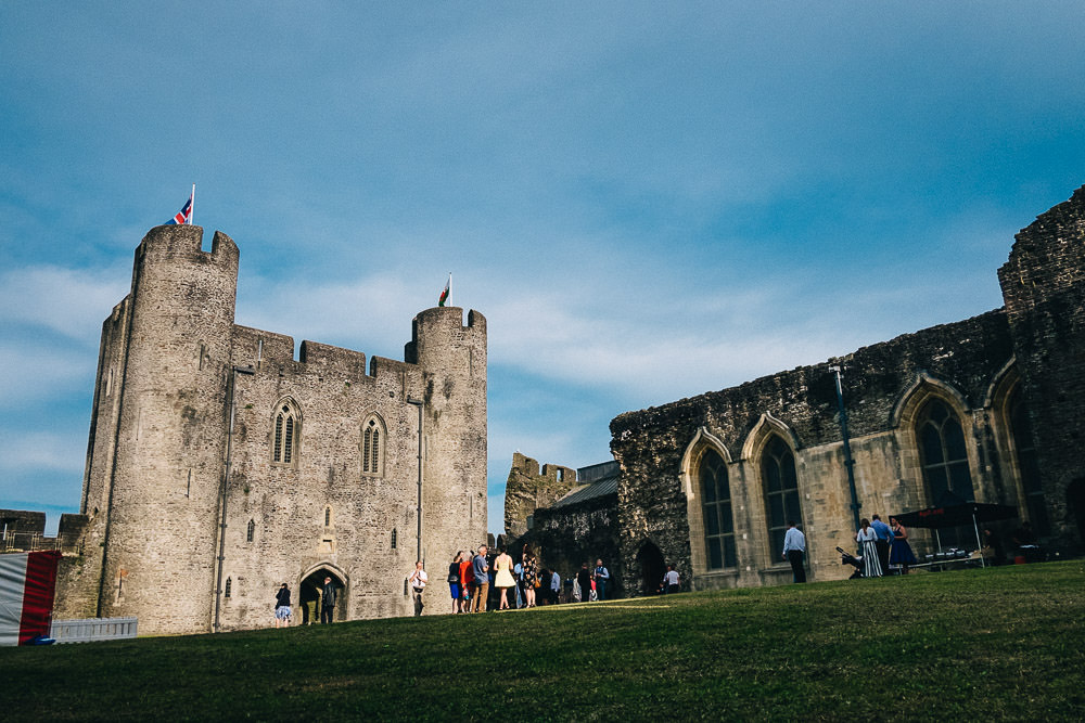 ANERIA SARAH ALTERNATIVE WEDDING PHOTOGRAPHY CAERPHILLY CASTLE 46