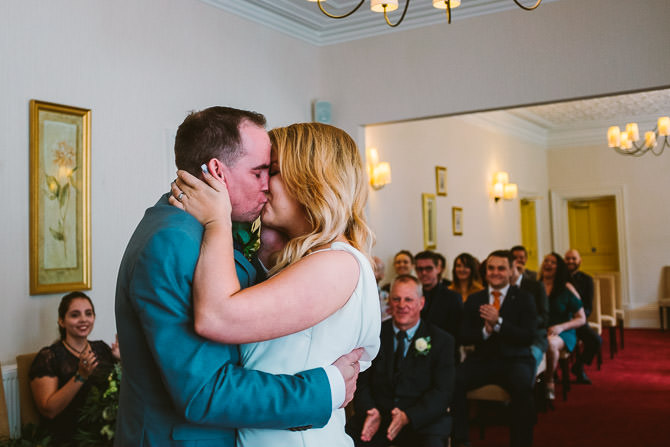 <font class='color-pink'>Wedding</font> | Green Dragon Inn, Cheltenham Wedding Photography - Clare + Seth