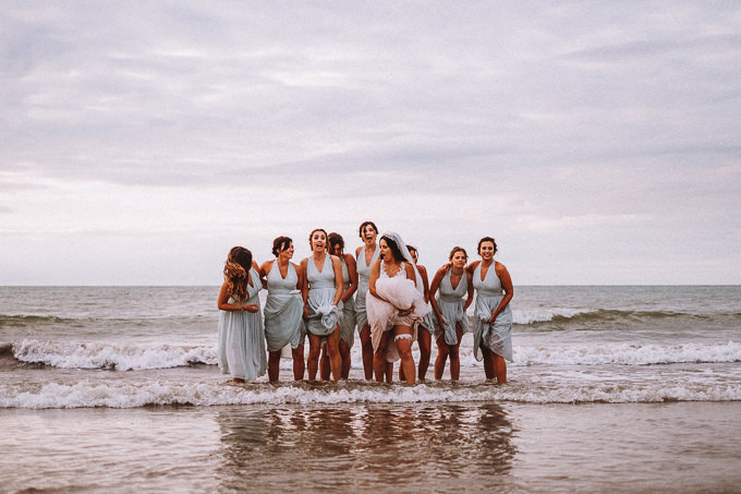 Relaxed & Fun Wedding in West Wales - New Quay, Ceredigion