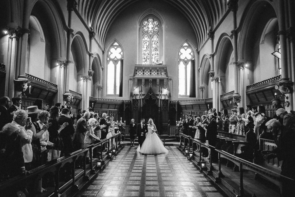 Wedding at Stanbrook Abbey, Worcester