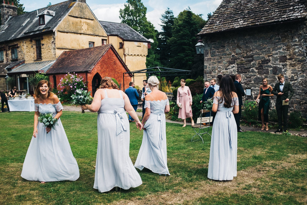 FUN USK CASTLE WEDDING PHOTOGRAPHY WALES 021