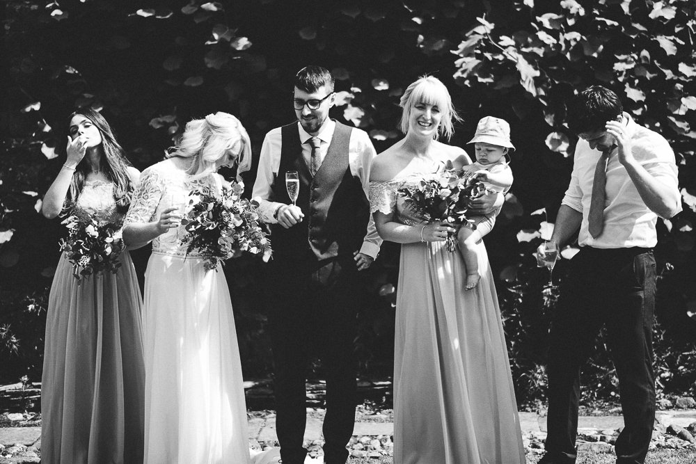 FUN USK CASTLE WEDDING PHOTOGRAPHY WALES 031