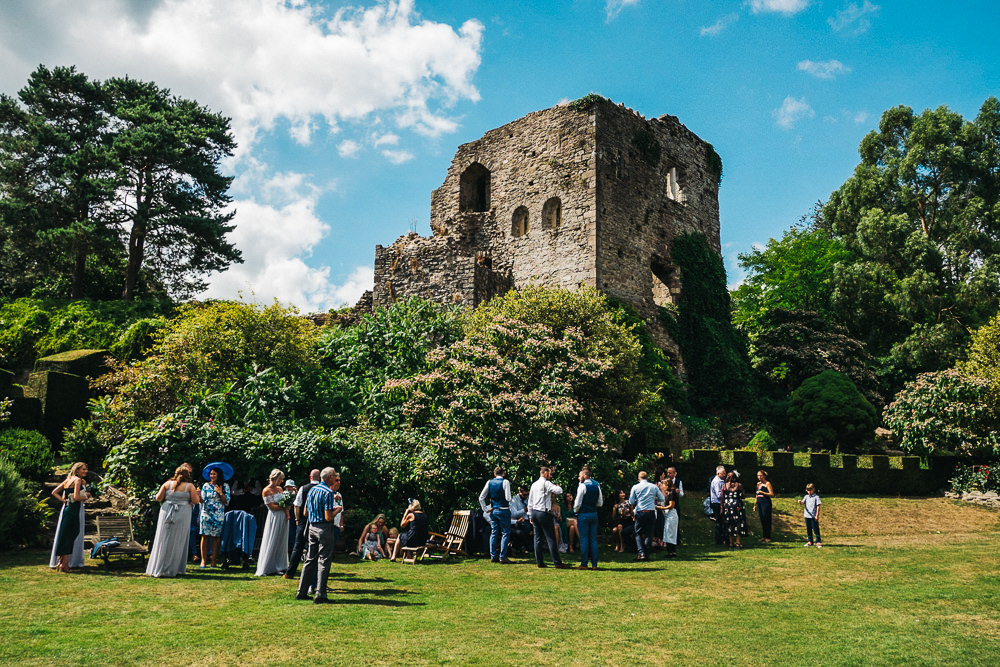 FUN USK CASTLE WEDDING PHOTOGRAPHY WALES 032