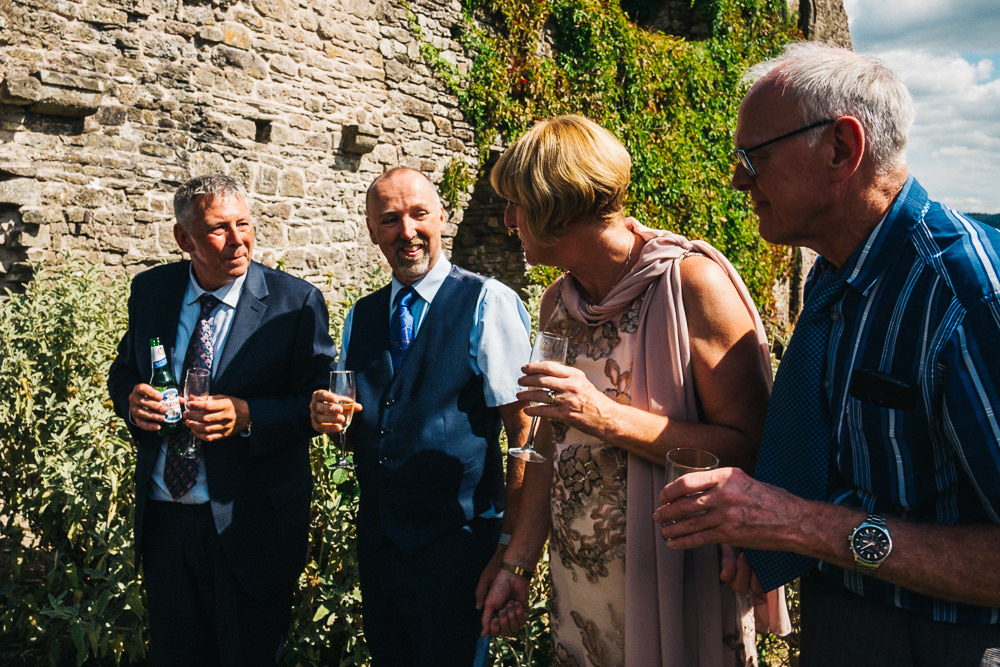 FUN USK CASTLE WEDDING PHOTOGRAPHY WALES 035