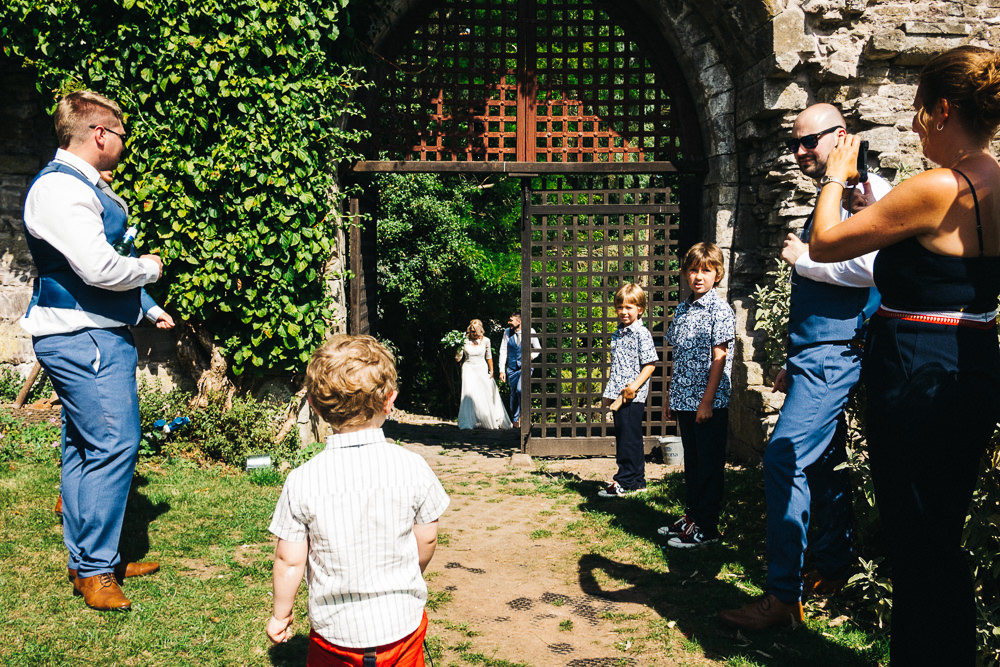 FUN USK CASTLE WEDDING PHOTOGRAPHY WALES 036