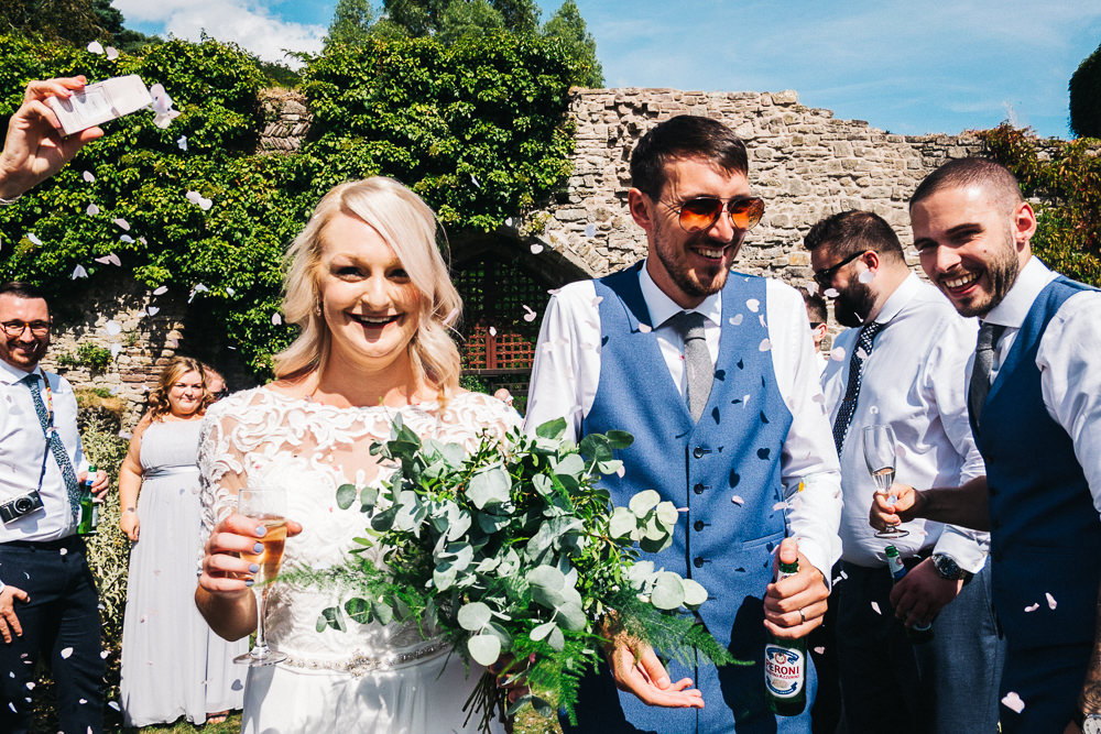 FUN USK CASTLE WEDDING PHOTOGRAPHY WALES 038