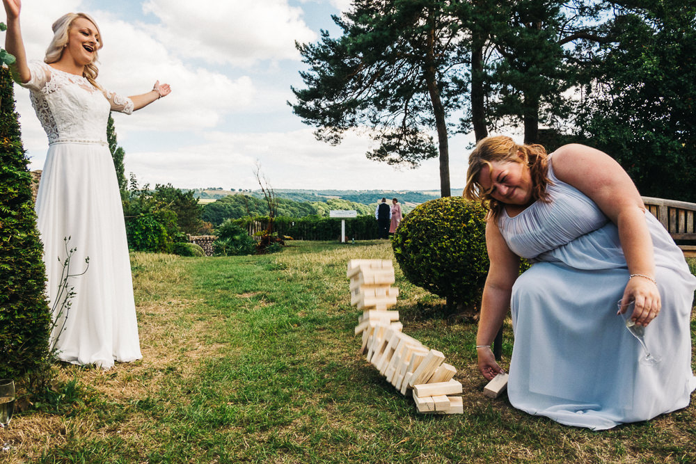 FUN USK CASTLE WEDDING PHOTOGRAPHY WALES 042