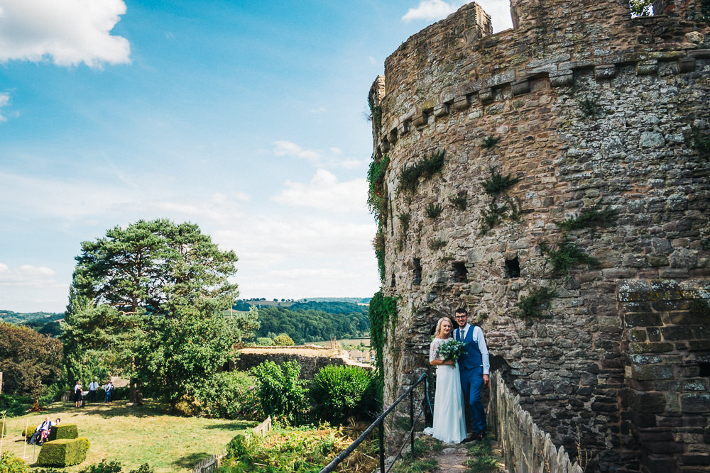 FUN USK CASTLE WEDDING PHOTOGRAPHY WALES 047