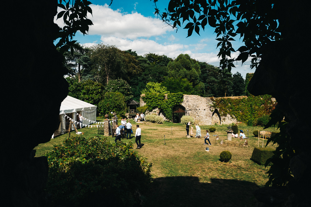 FUN USK CASTLE WEDDING PHOTOGRAPHY WALES 048