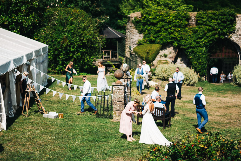 FUN USK CASTLE WEDDING PHOTOGRAPHY WALES 049