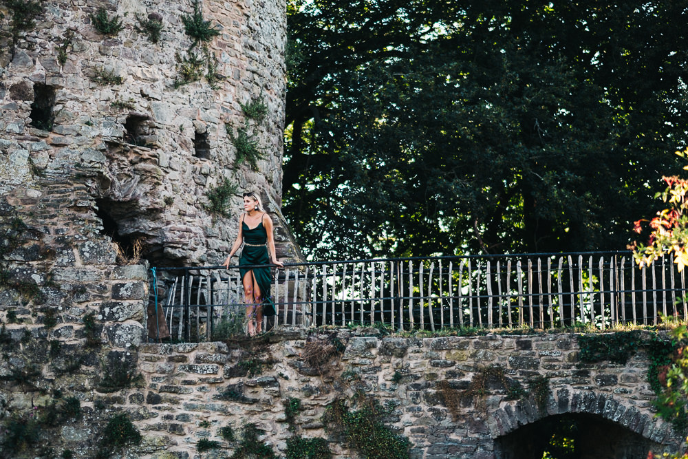 FUN USK CASTLE WEDDING PHOTOGRAPHY WALES 075