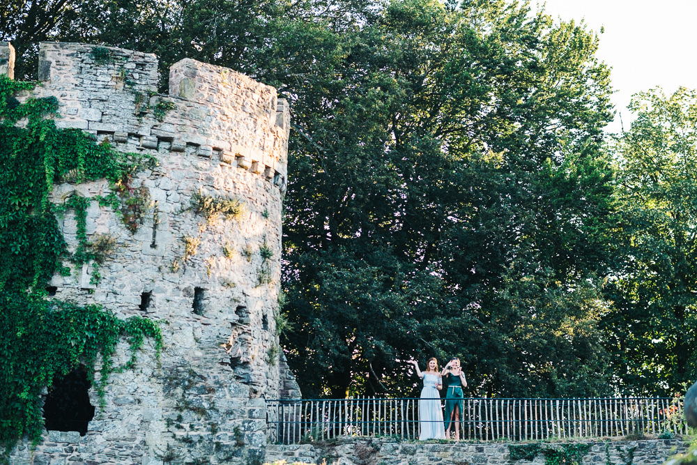 FUN USK CASTLE WEDDING PHOTOGRAPHY WALES 097